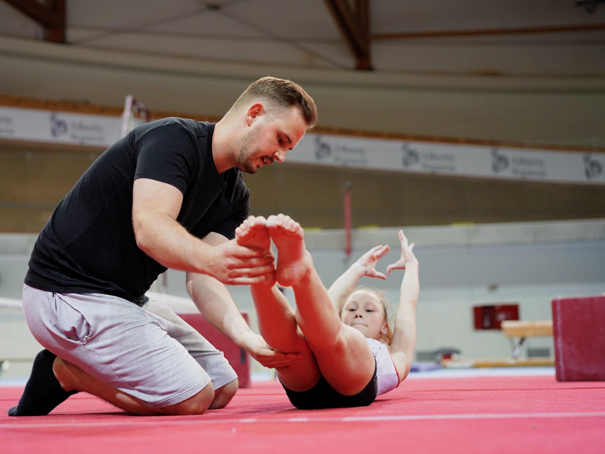 Gymnastics Hold