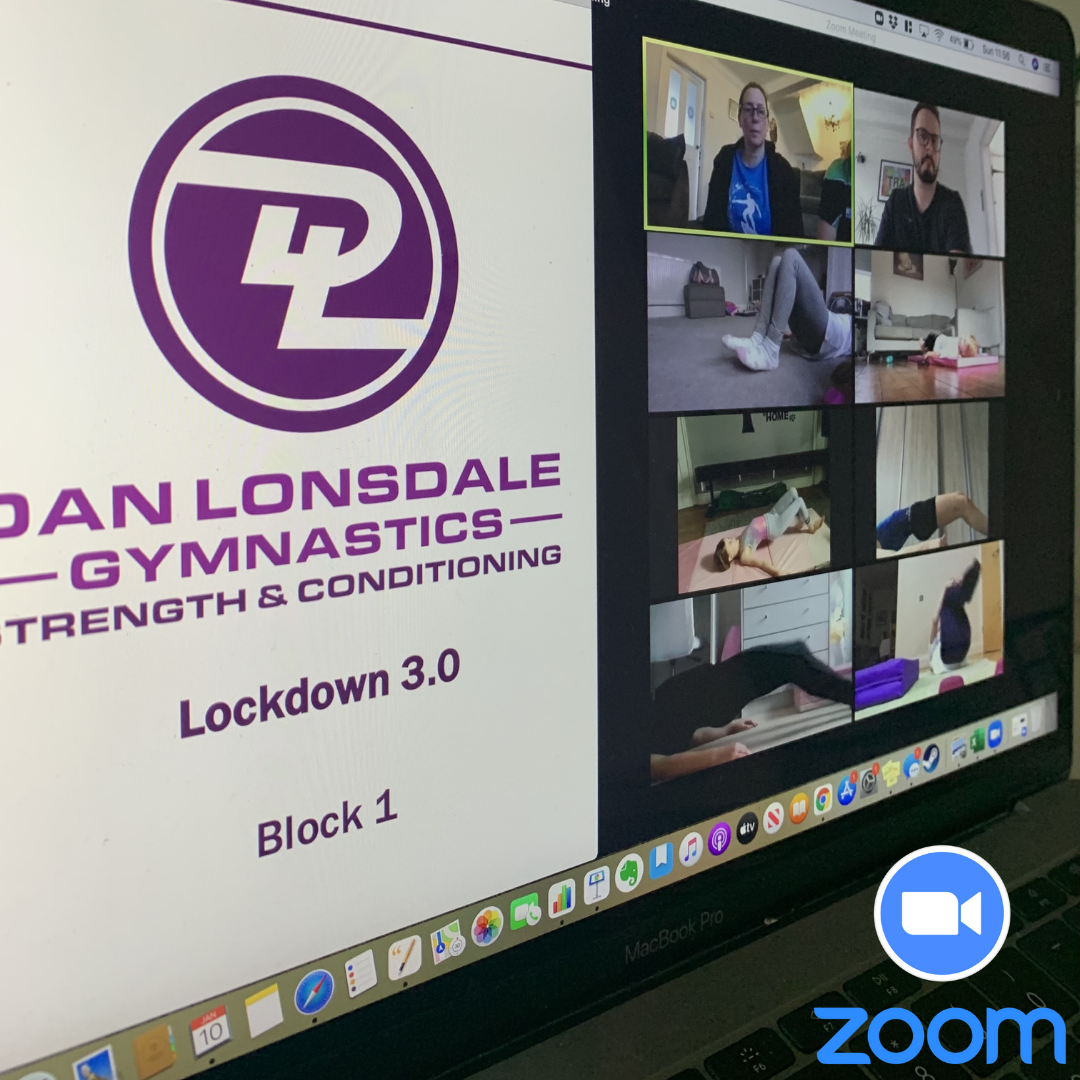 Top 5 tips for coaching gymnastics Strength & Conditioning on Zoom